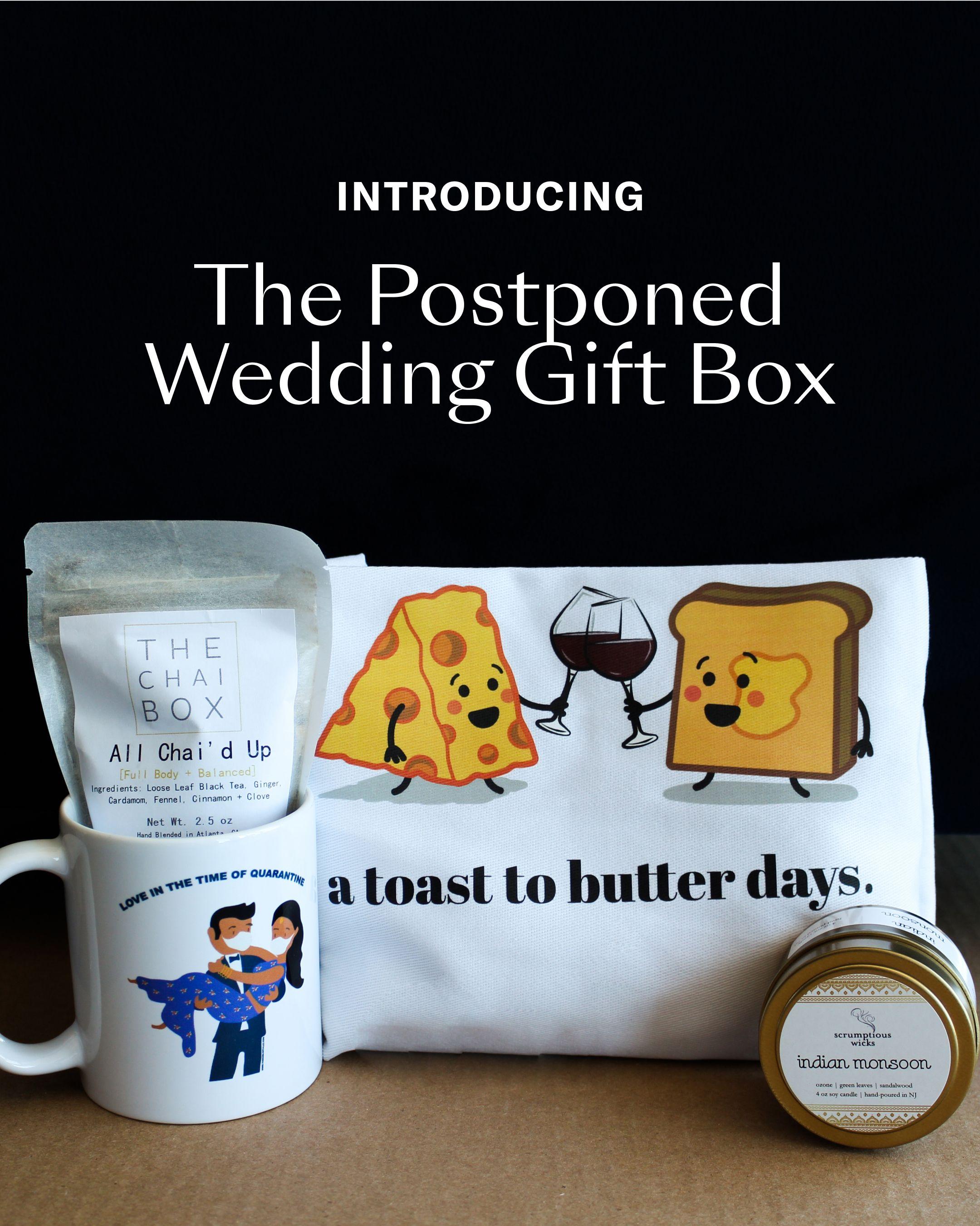 Postponed Wedding Care Package in 2020 Wedding gifts