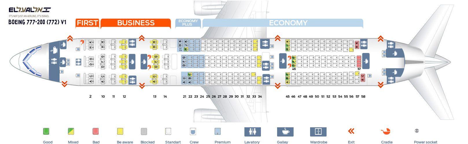El Al Fleet Boeing 777 200er Details And Pictures