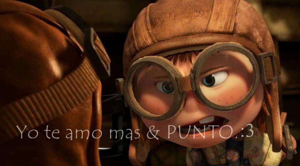Yo Te Amo Mas Punto Pixar Up Pixar Cute Photography