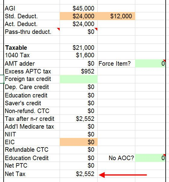 2018 Tax Calculator With ACA/Obamacare Health Insurance Subsidy