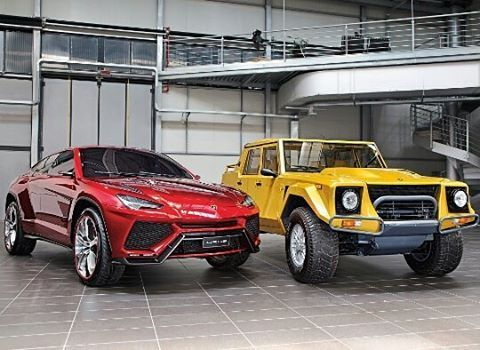Lamborghini SUV! New or old? Follow @elegantbachelor MLX
