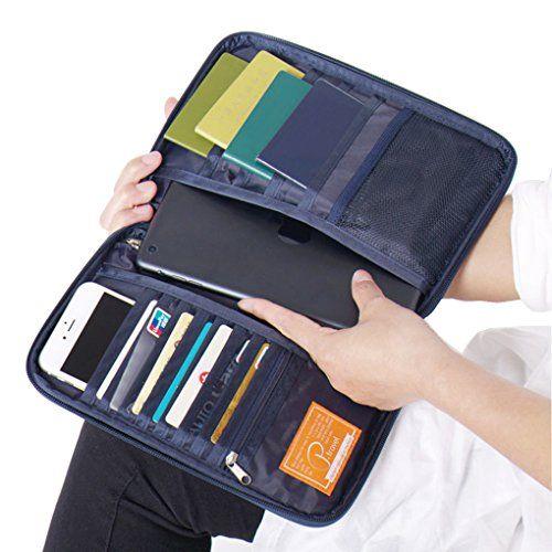*NEW* Passport Organiser Travel Wallet Card /& Document Holder Camouflage Case