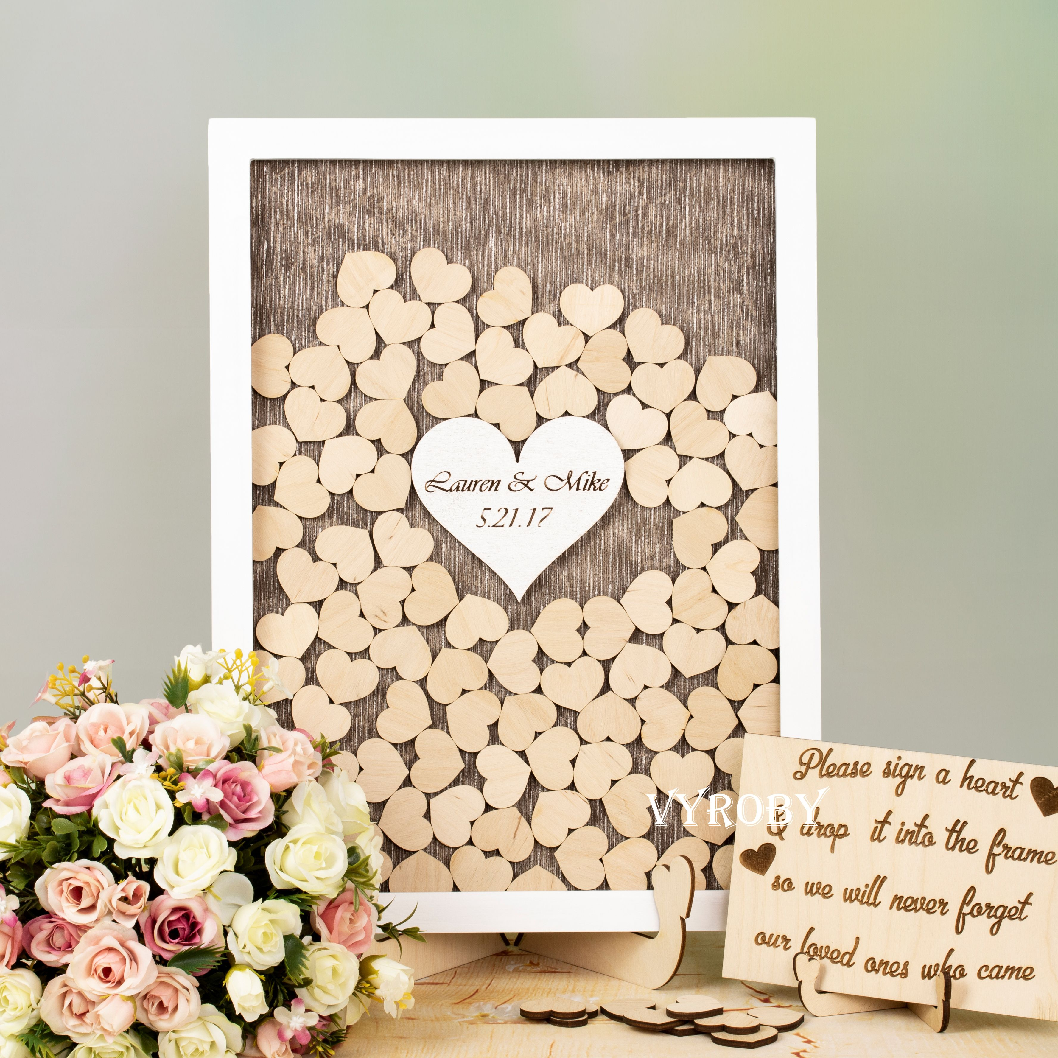 Unique Guest Book Ideas For Wedding Alternative Guest Book Wedding Bridal Sho Wedding Guest Book Unique Wedding Drop Box Rustic Wedding Guest Book Alternative