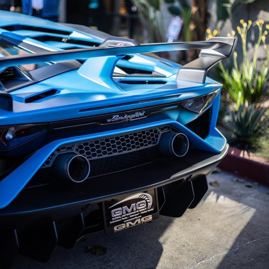 Lamborghini Aventador Svj In Blu Seiler Posted By Ilovecars01