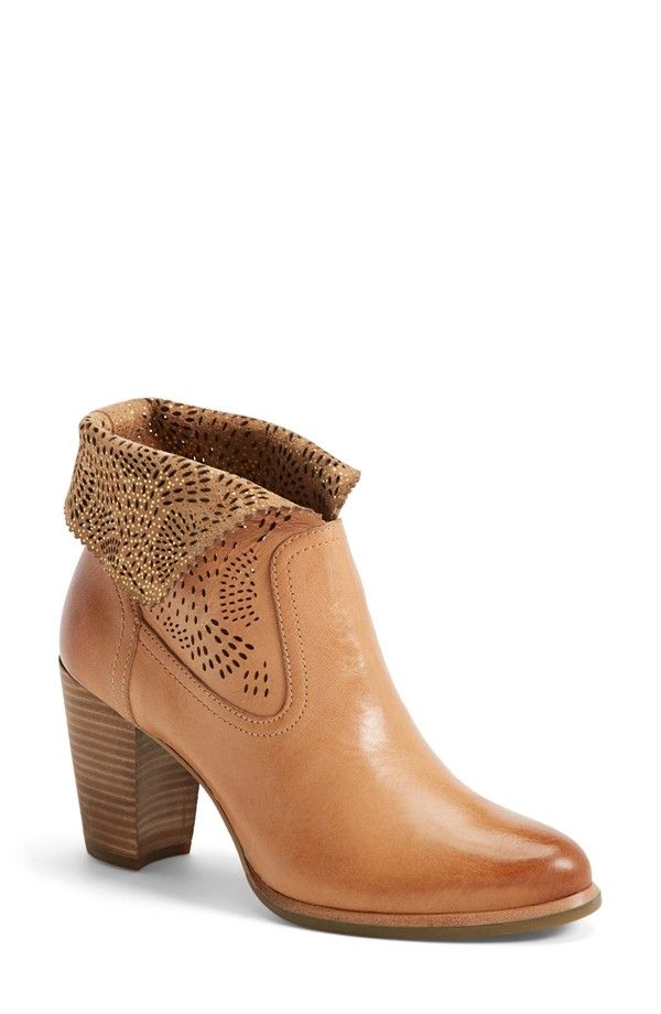 'Thames Seaweed' Perforated Bootie (Women)