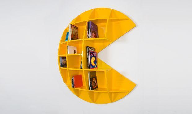 Pacman Bookshelf Designed By Mirko Ginepro Amazing Ideas