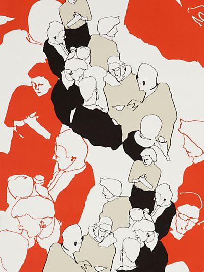 In love with this Marimekko Ystavat wallpaper £59