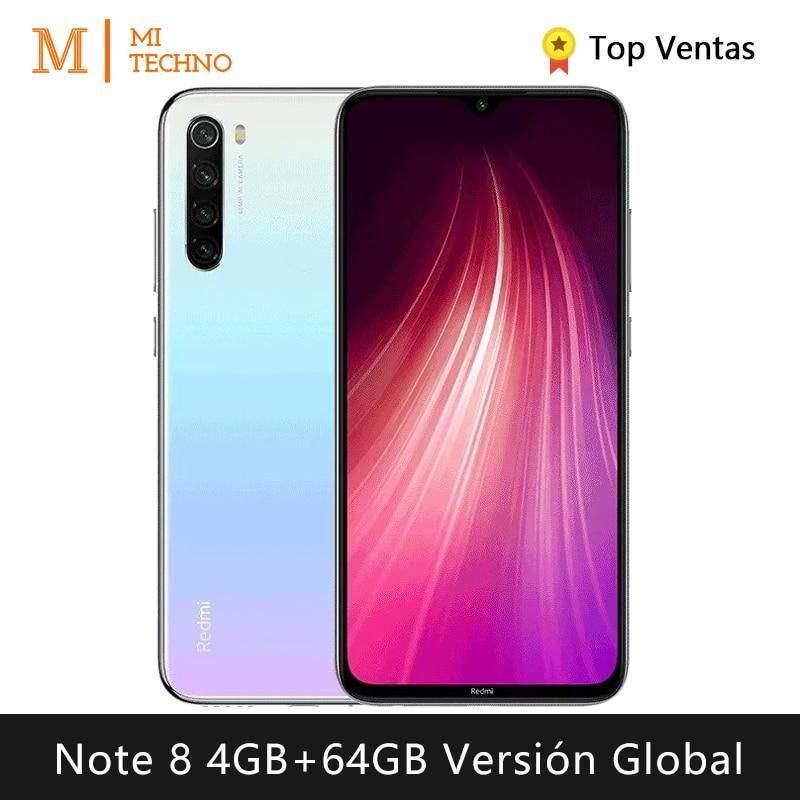 Xiaomi Redmi Note 8 Smartphone 4gb Ram 64gb Rom Free Mobile Phone New Cheap Android 4000mah Battery Global Version Xiaomi Free Mobile Phone Lg Phone