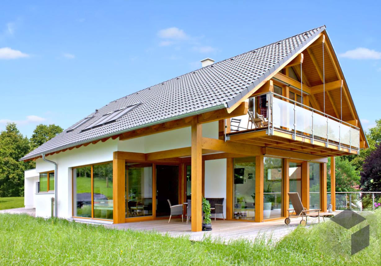 Modernes Fachwerkhaus Homestory 308 Lehner Haus 12,5