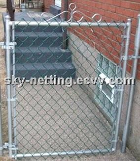 Single Leaf 1.2m(h) 1.2m(W) Square Tube 40x40mm Fence Gate (HT.G) - China Gate;gate door;fence gate, HAOTIAN