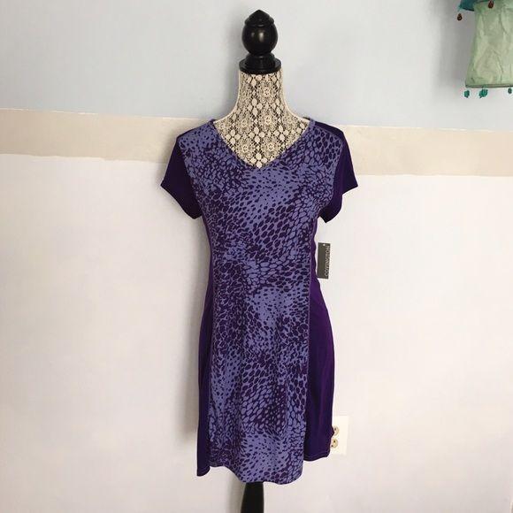 "Night shirt Brand new! Runs true to size. 65% polyester and 35% rayon. Armpit to armpit is 17"" and its 32"" long. Covington Intimates & Sleepwear Pajamas"