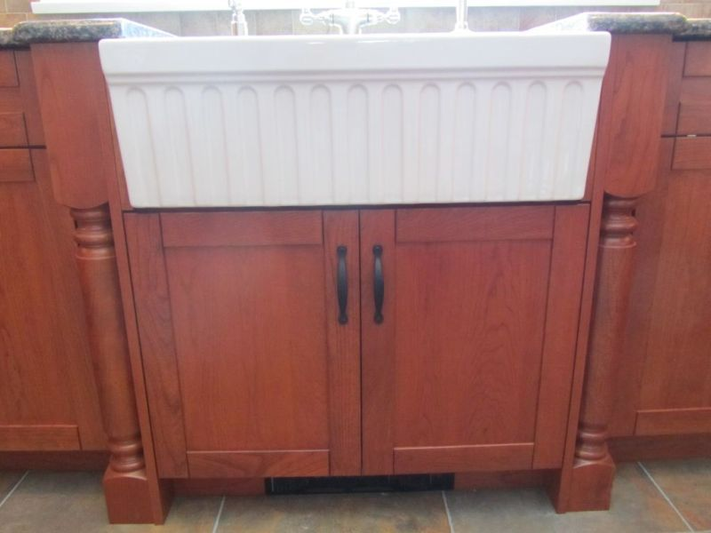 Best Cabinetry For Farmhouse Sinks Kitchen Facelift Shaker 400 x 300