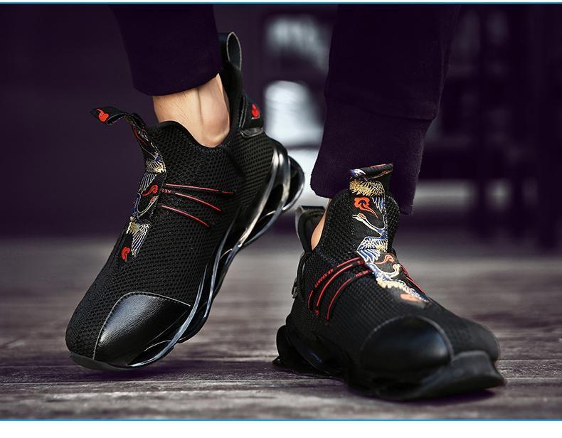 Senta New Blade Running Shoes Man Korean Cool Spring Shoes Non Slip Li Sheheonline Sneakers Men Leather Shoes Men Running Shoes For Men