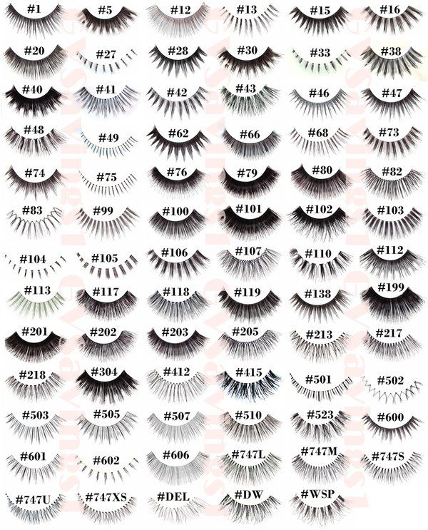 77a3d3cd003 12 Pairs RED CHERRY FALSE EYELASHES Fake Lashes Individual Lot Pack
