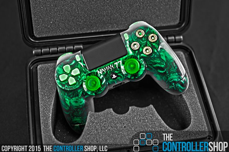 All green everything. Customize every aspect of your