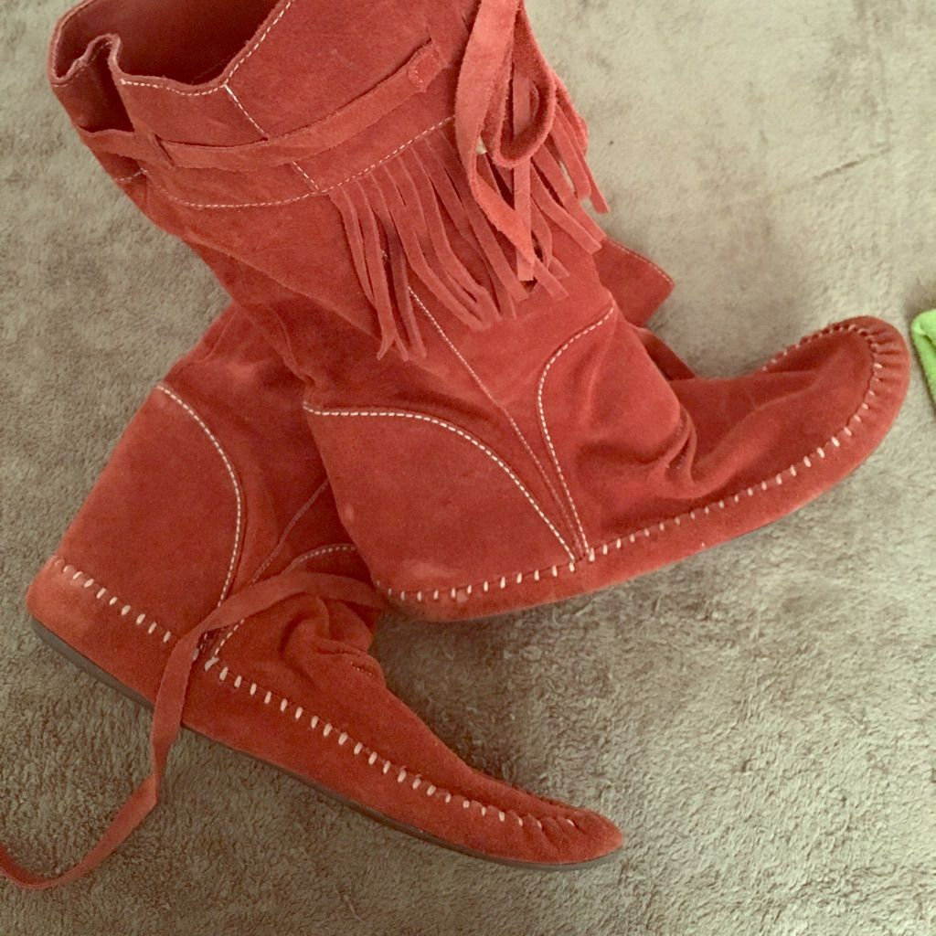 Nordstrom Shoes Navajo Paprika Boot Color Red Size