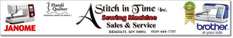 a stitch in time inc bemidji mn stitch bemidji janome a stitch in time inc bemidji mn
