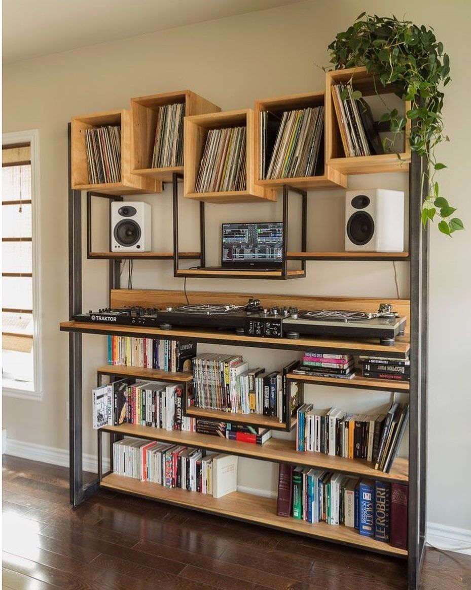 Vinyl Library On Instagram And That Is Just Can You Finish The Sentence Follow Us Vinyllibrary Record Room Home Dj Room