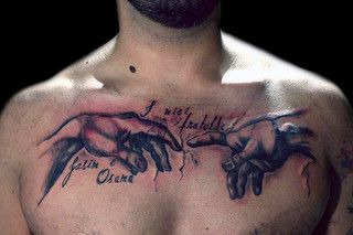 Robertones S Favorites Cool Chest Tattoos Chest Tattoo Men Tattoos For Guys