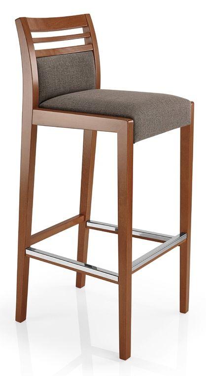 Taburete Cassis Inou Mobiliario Muebles Para Pantallas Sillas Altas De Madera Decoracion Con Sofa Rojo