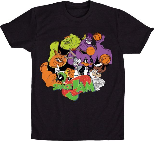 cda01ec1c Space Jam T-Shirt | Movie T-Shirts | Space jam, Space jam outfit, Shirts