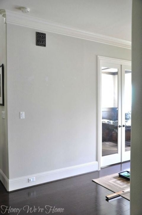 Paint Colors For Wood Floors And Trim Agreeable Gray From Sherwin