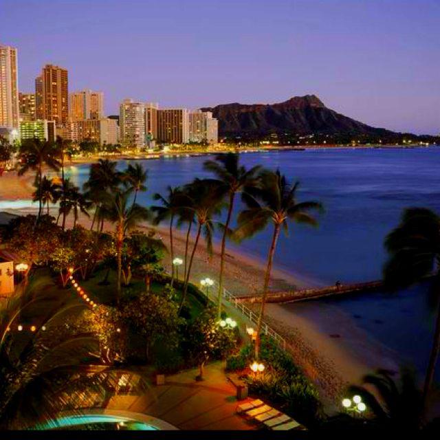 Honolulu Hawaii Beautiful Places To Visit Pinterest