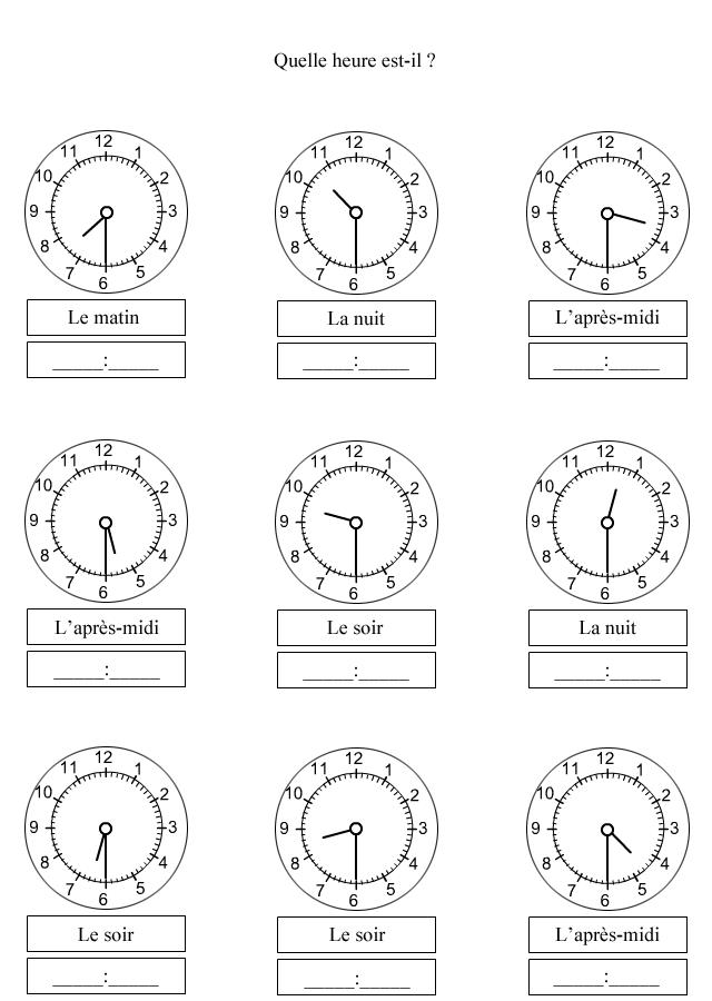 apprendre lire l 39 heure demi heure monnaie heure ce1. Black Bedroom Furniture Sets. Home Design Ideas