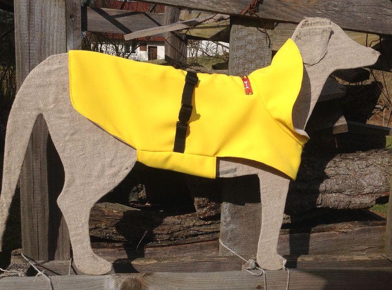 Hund: Bekleidung - Hundemantel mit Kragen Größe S - ein Designerstück von AndreasHundikate bei DaWanda