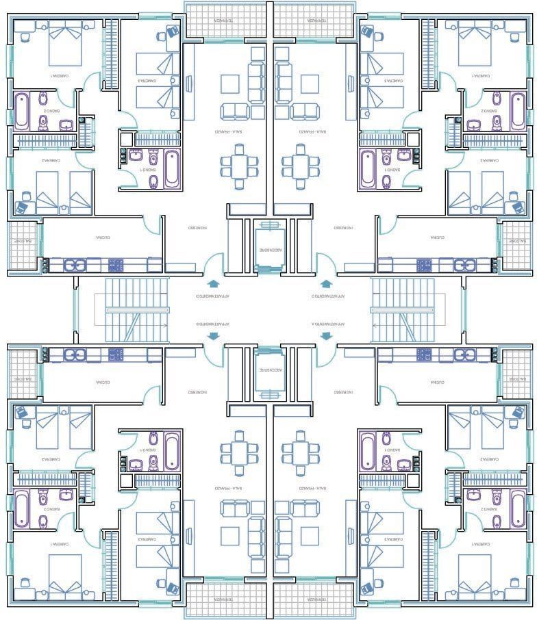 Great Buildings And Structures Maison Architecte Plan Maison Architecte A Architectural Floor Plans Residential Building Plan Residential Architecture Plan