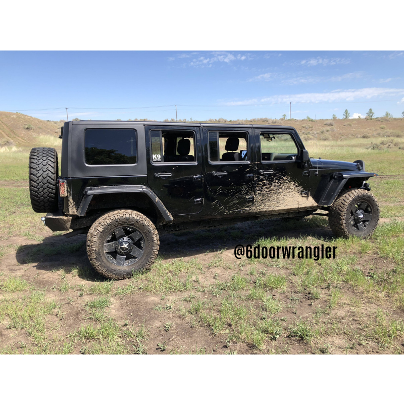 6 Door Jeep Wrangler Jk Jku Stretched Doors