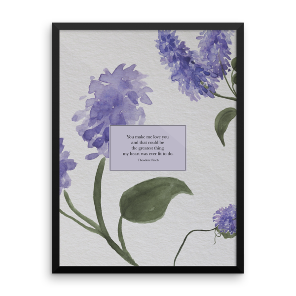 You Make Me Love You Theodore Finch Quote Art Print In 2020 All The Bright Places Quotes Art Prints Quotes Theodore Finch
