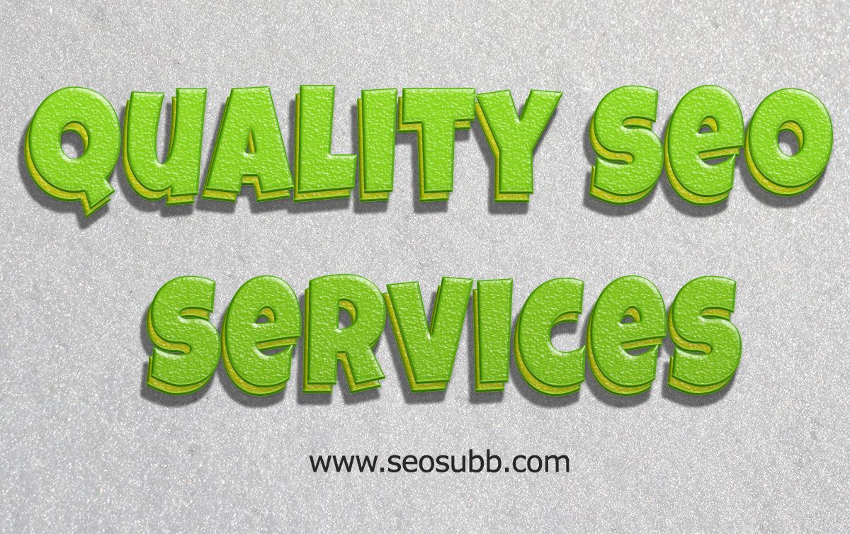 You must read this article carefully for further information. It could be of great help and guidance to you. Hop over to this website http://seosubb.com/services/ for more information on Quality SEO Services.