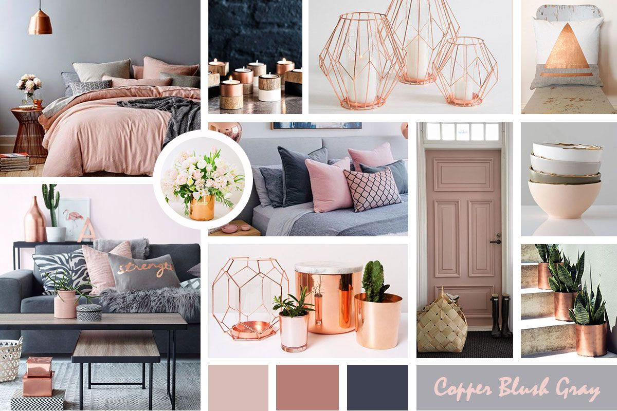 Best Copper Blush Gray Copper Living Room Blush Living Room Copper And Grey Bedroom 400 x 300