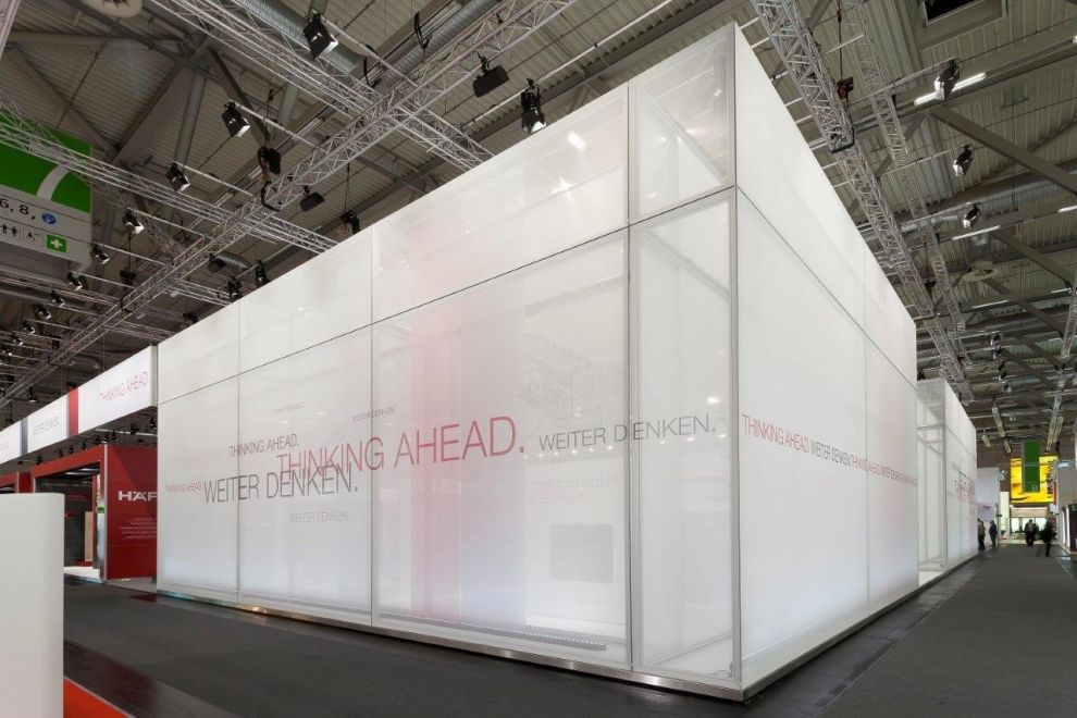 Exhibition Stand Frames : Aluvision fabric frames seamless fabric walls for large graphics
