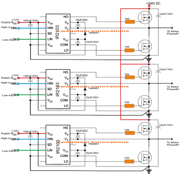 5kva Ferrite Core Inverter Circuit Full Working Diagram With Calculation Details Homemade Circuit Proj Circuit Projects Arduino Electronic Circuit Projects