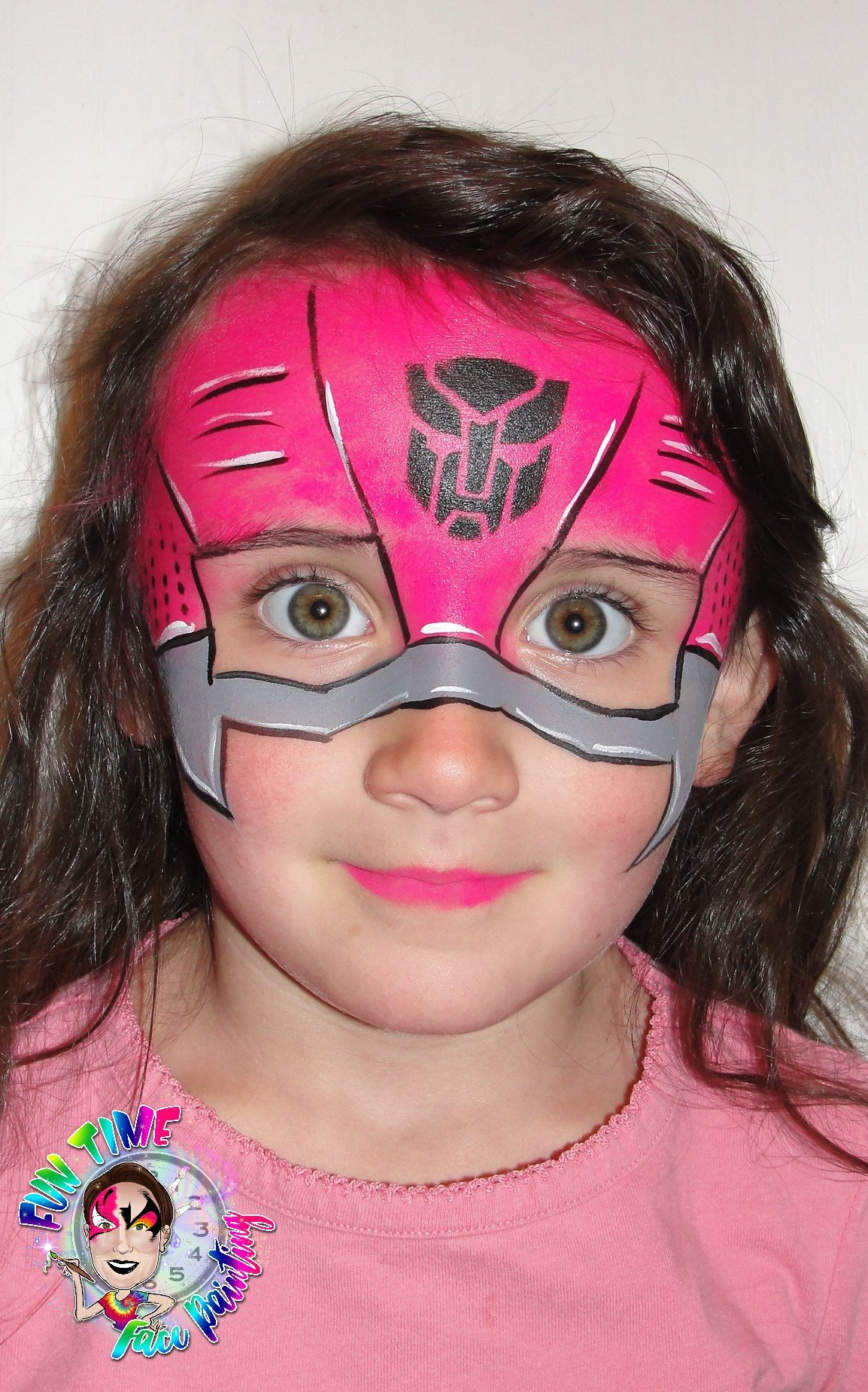 Transformer Face Paint : transformer, paint, Painting