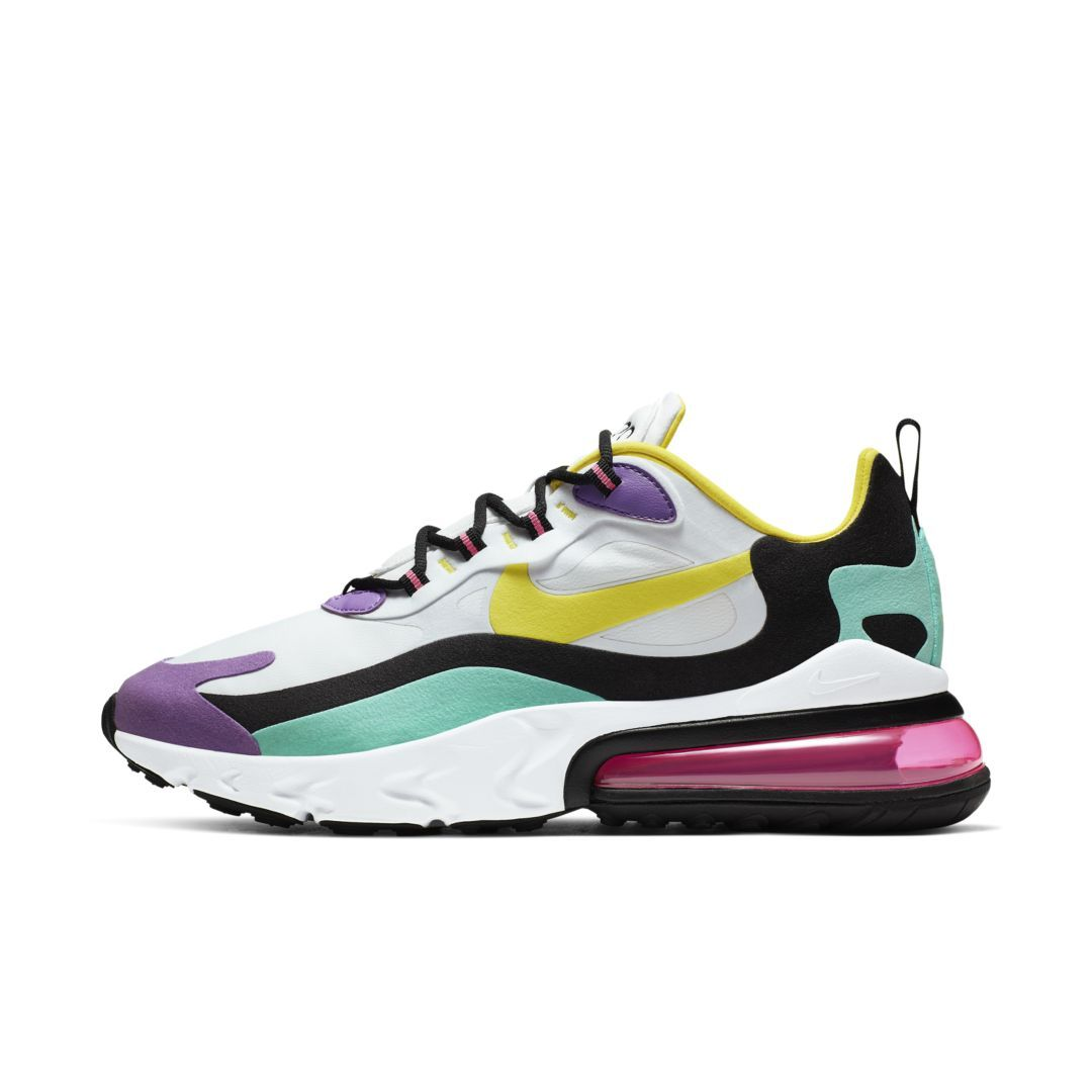 Nike Air Max 270 React (Geometric Abstract) Men's Shoes ...
