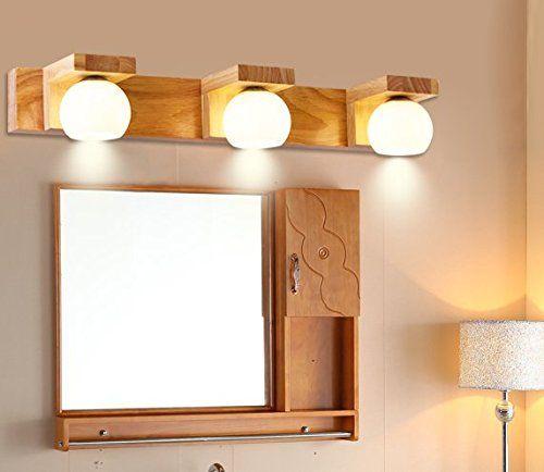 Spiegel Treppen gaohx nordic led schlafzimmer massivholz wandleuchte nachttischle