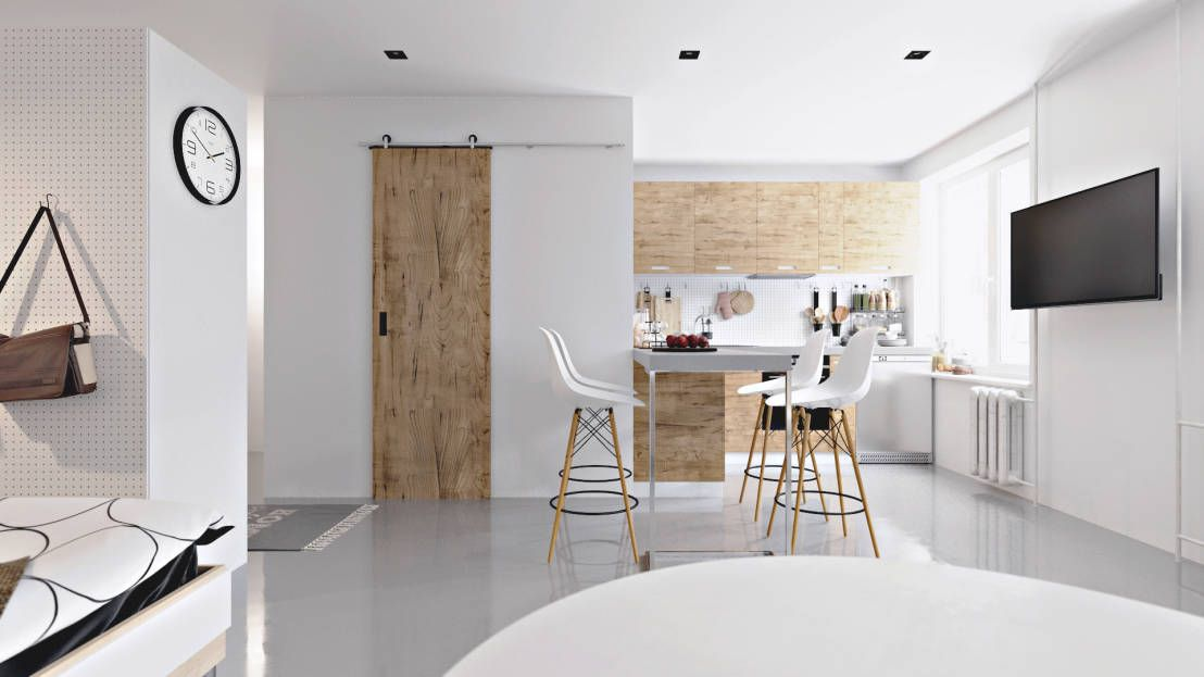 6 tricks die niedrige decken h her wirken lassen zu hause raum und niedrige decken. Black Bedroom Furniture Sets. Home Design Ideas
