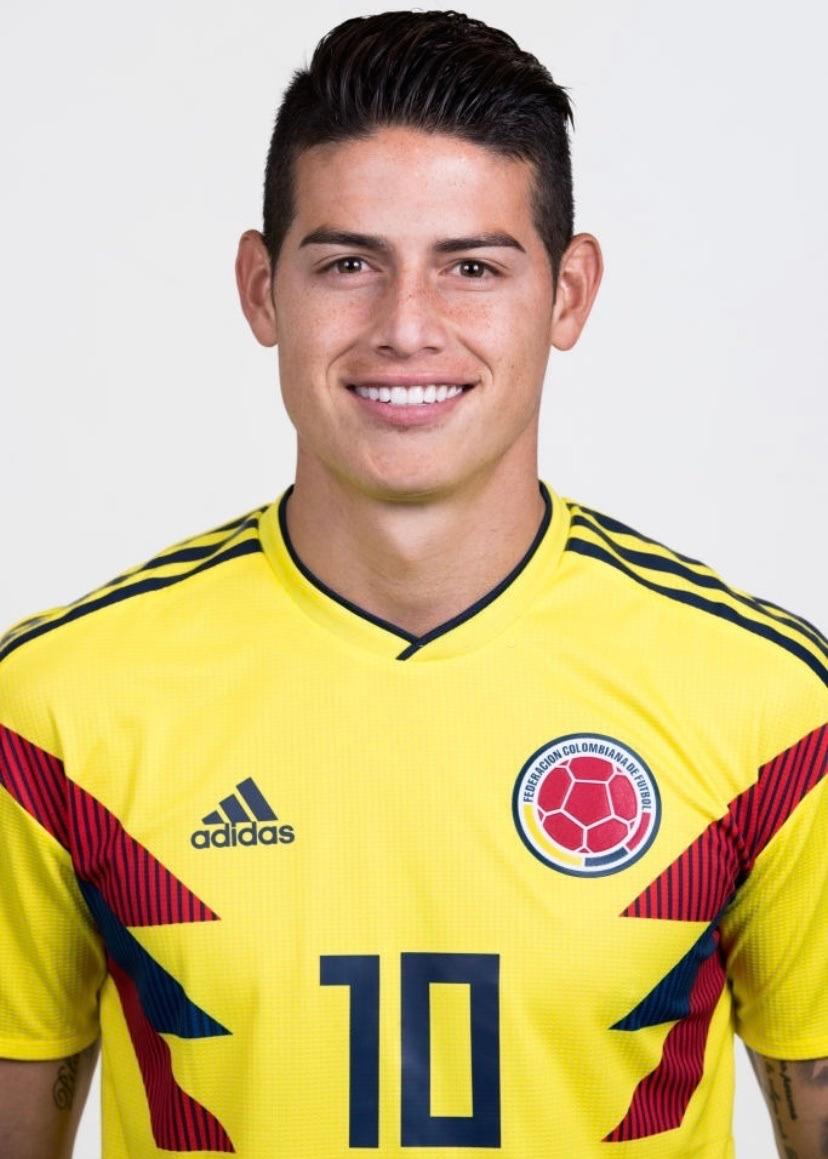 World Cup Portraits 2014 V 2018 Eden Hazard James Rodriguez James Rodriguez Colombia Fifa