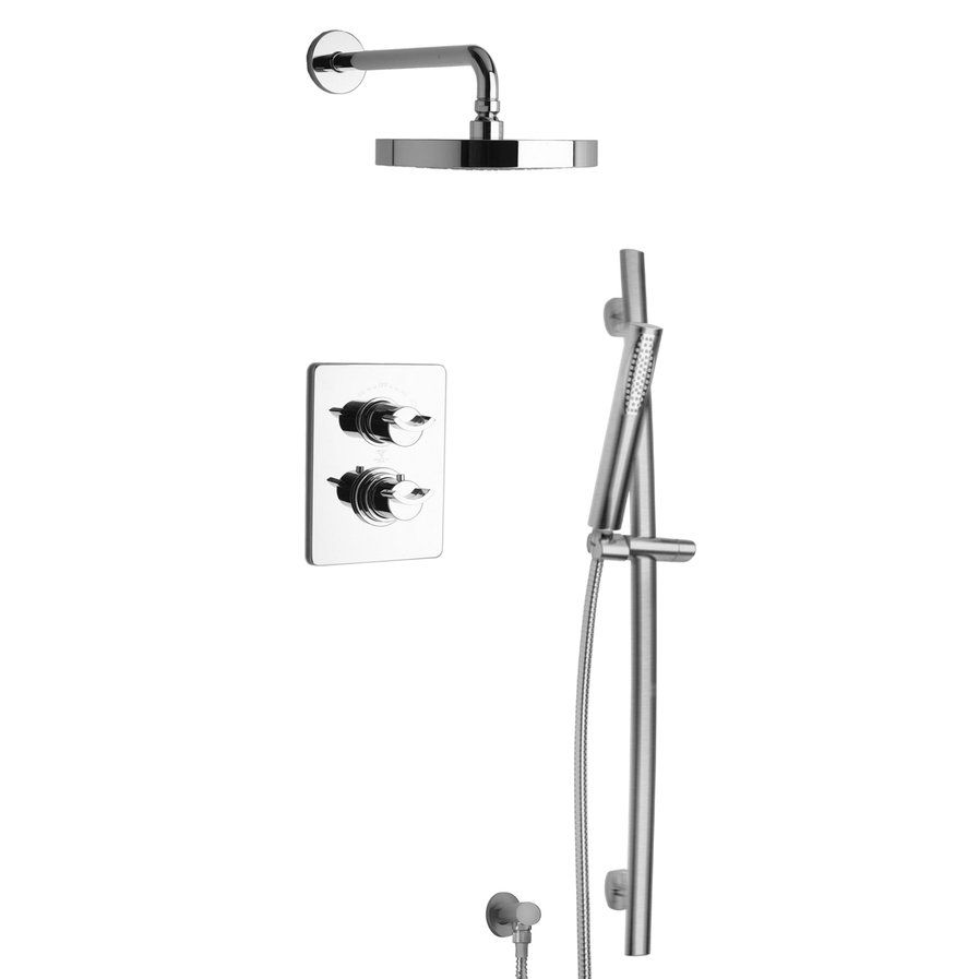 Morgana Thermostatic Valve With 2 Way Diverter Volume Control