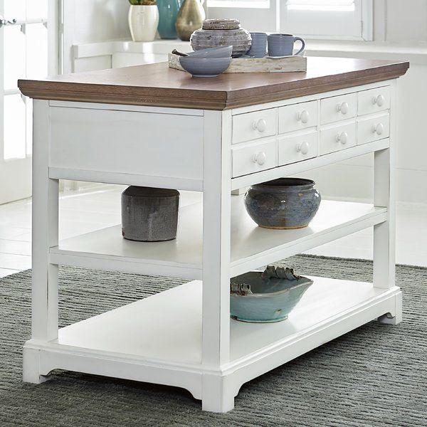 Knotty Oak Kitchen Island: Furniture, Modern Furniture