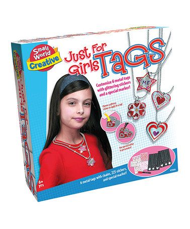 Just for Girls Tag Making Kit