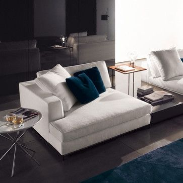 Minotti Albers Depth 134 Sectional Sofa Contemporary Sectional
