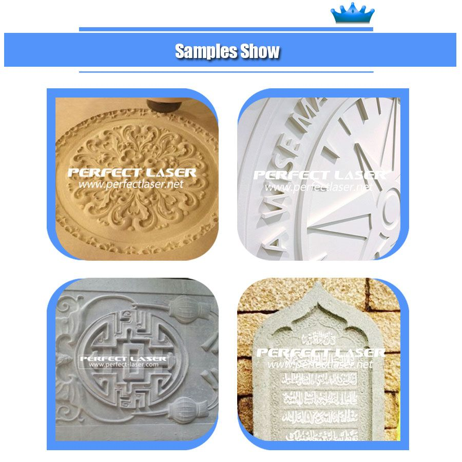 The Samples Of Pem 1325c Cnc Router For Stone Marble Granite Tombstone Work Long Hours Which Can Realize Power Breakp Laser Marking Cnc Router Laser Machine