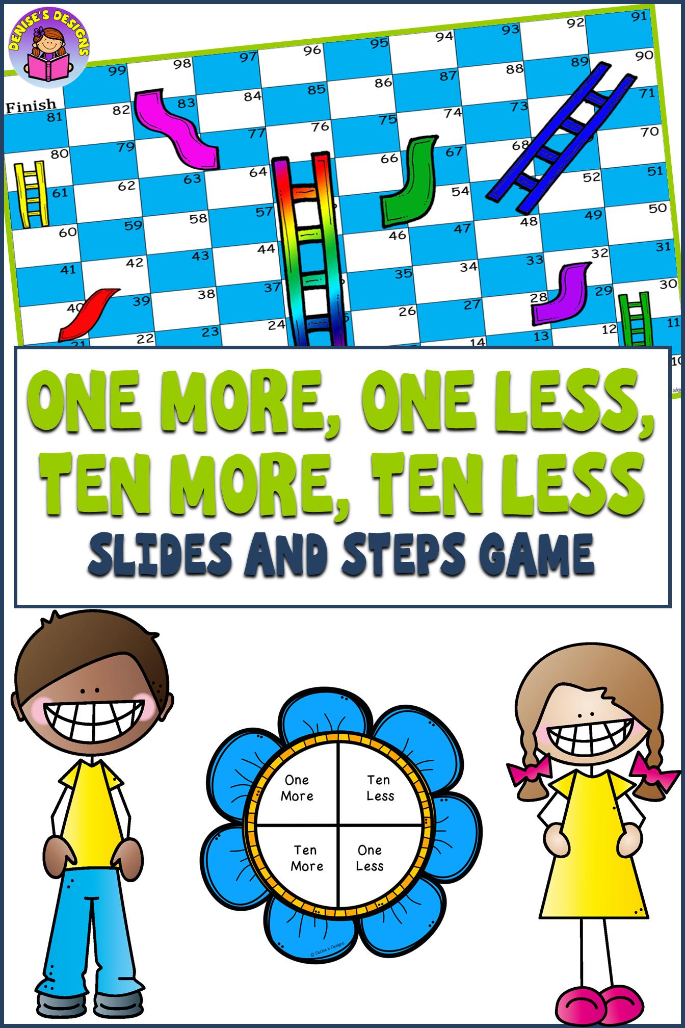 Ten More Ten Less 10 More 10 Less