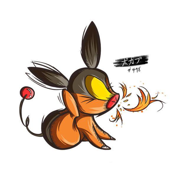 Tepig - Pedidos pokemon on Behance