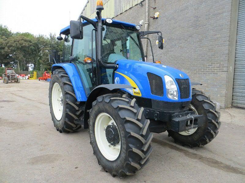 New Holland T5050 - at C&O Tractors  October 2014  | william