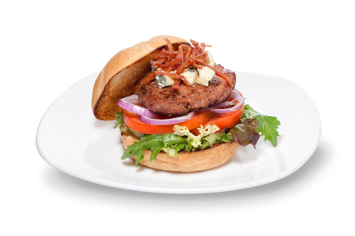 #hamburguesa con queso roquefort